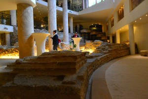 Serdica Arena Hotel built around Roman ruins