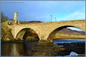 Telford Bridge over the Helmsdale river
